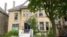 The Delta Upsilon fraternity house in London, Ont. seen on Wednesday, Sept. 2, 2020. (Marek Sutherland / CTV News)