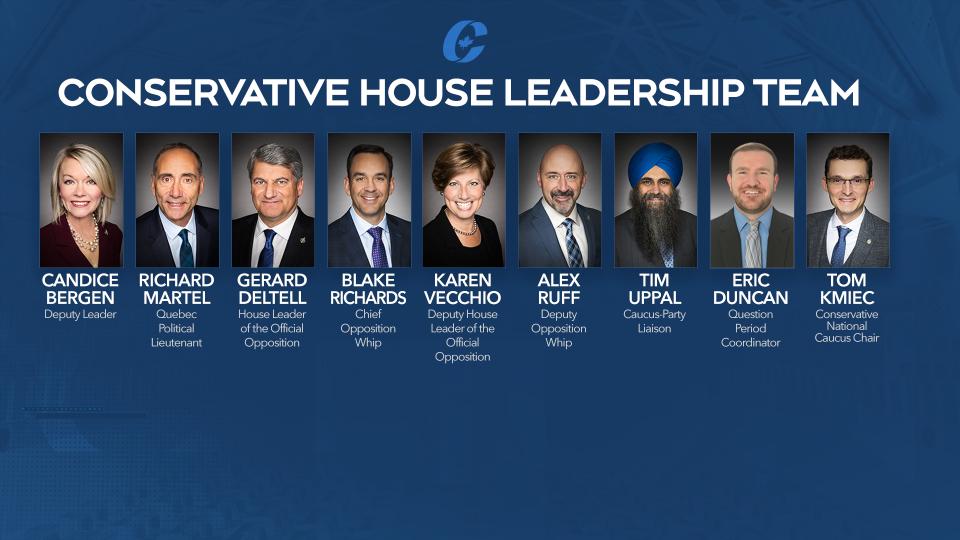 Conservative House Leadership Team