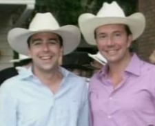 Liberal MP Scott Brison and his partner Maxime St. Pierre.