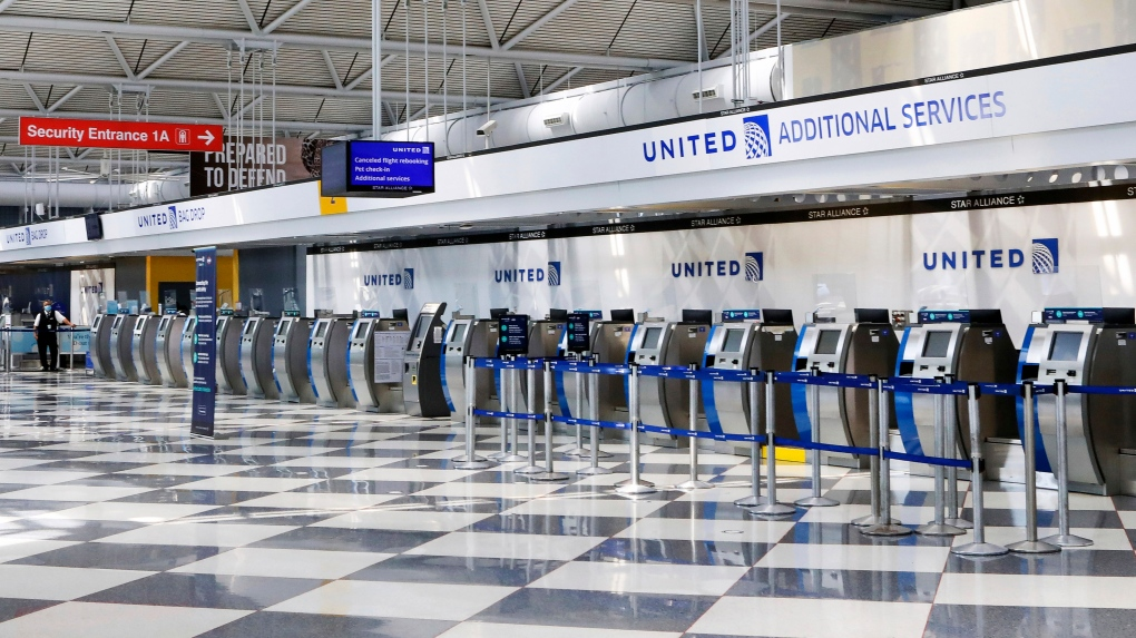 United Airlines to cut 16,370 jobs as the pandemic rages