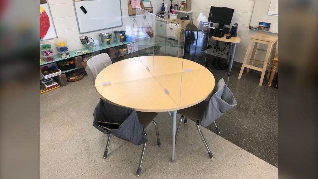 manitoba covid-19 classroom