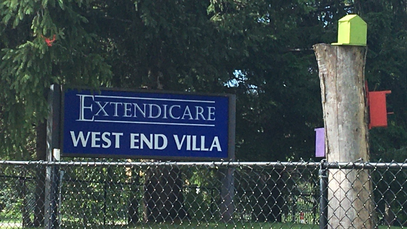 A COVID-19 outbreak was declared at Extendicare West End Villa on Aug. 30, 2020 after eight residents and one staff member tested positive. (Katie Griffin/CTV News Ottawa)