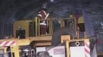 Miner underground