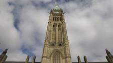 The Peace Tower is seen in Ottawa, Friday September 25, 2009. (Adrian Wyld/TCPI/The Canadian Press)
