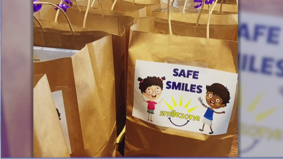 Smilezone packages of safe smiles