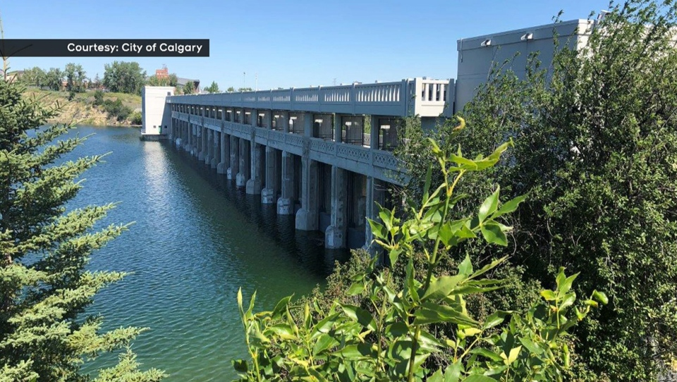 Upgrades to the Glenmore Dam are completely after nearly five years of work (City of Calgary)
