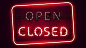 Open Closed sign generic