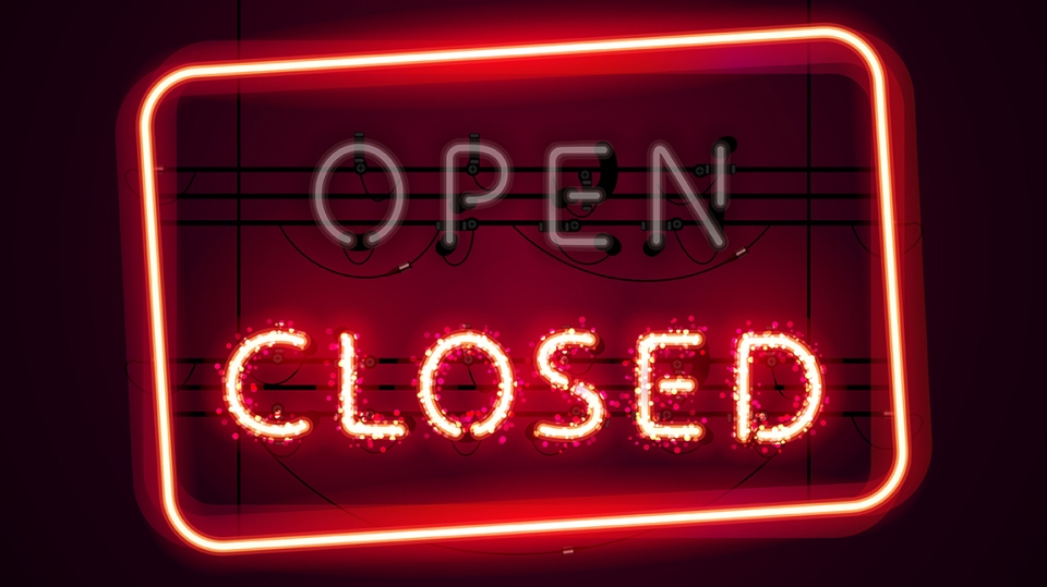 Open Closed sign generic