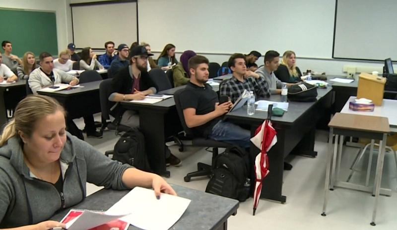 As college and university students prepare to hit the books once again, the provincial NDP are calling on the Doug Ford government to give students financial help. (File)