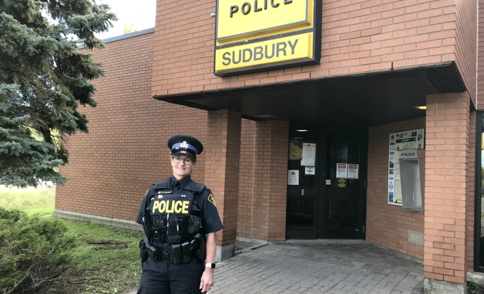 OPP Const. Michelle Coulombe says police are hoping for a fatality-free long weekend. (Jamie McKee/CTV News)