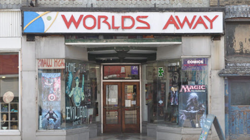 Worlds Away comic book shop in London, Ontario (Source: Worlds Away)