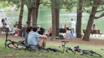Parc Lafontaine should be teeming with guests over the long weekend, as temperatures are set to be pleasant. THE CANADIAN PRESS/Graham Hughes