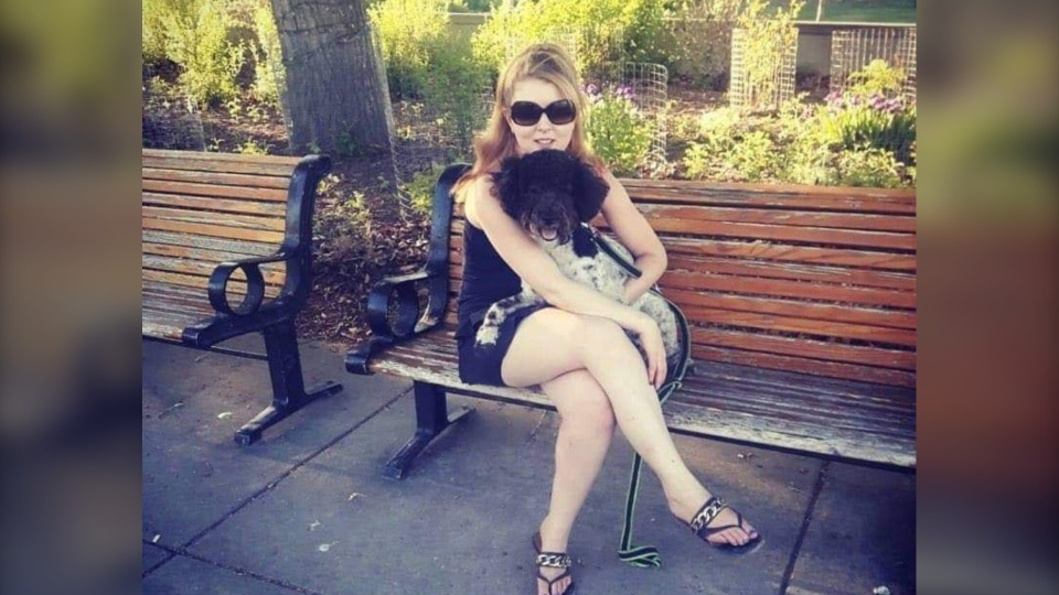 Rikki Segall says her dog Athena was killed in an attack by a pit bull-type dog on Wednesday.