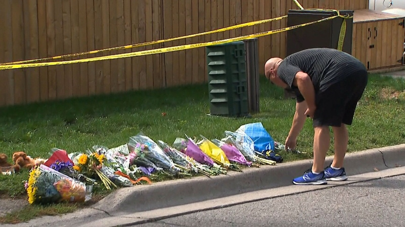 Community mourns family killed