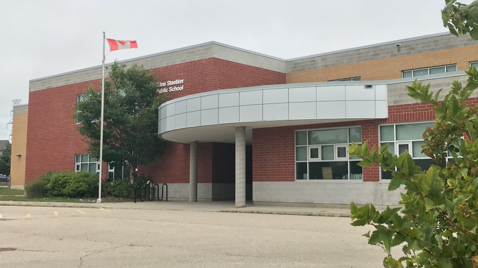 WRDSB has confirmed a staff member at Edna Staebler Public School has tested positive for COVID-19. (Johnny Mazza - CTV Kitchener) (Sept. 7, 2020)
