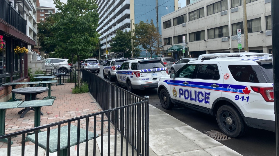 Police operation MacLaren Street
