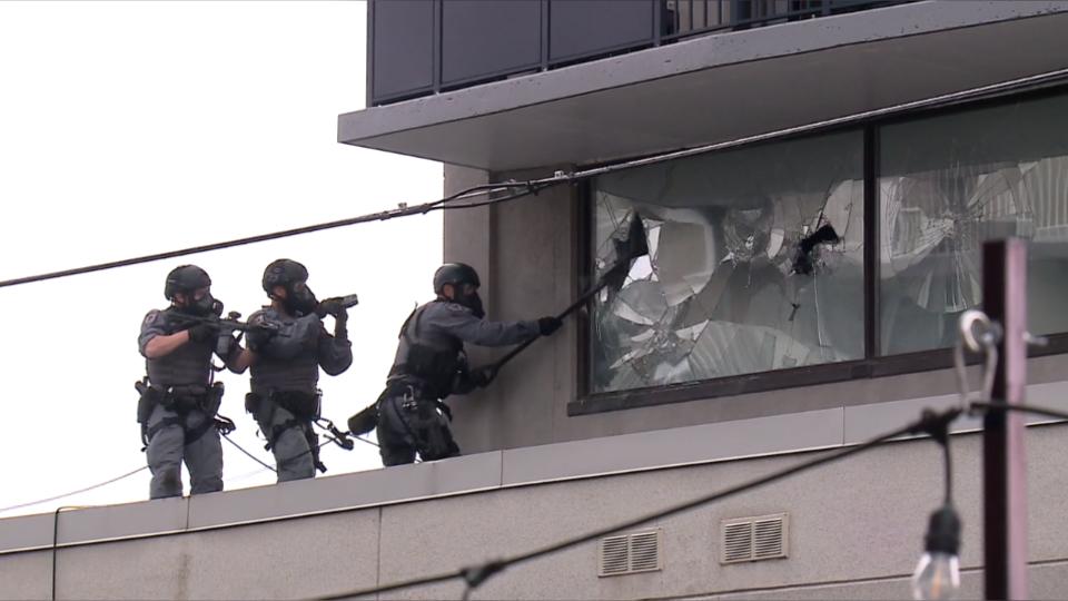SWAT team MacLaren incident Sept 7