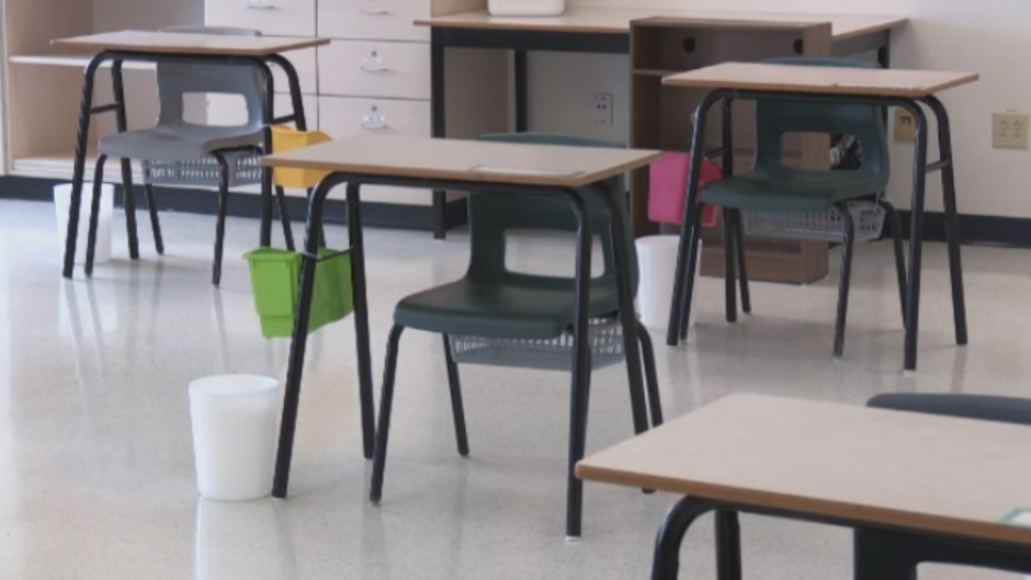"""""""There's a lot of people headed back to school tomorrow worried about safety, logistics, and readiness to provide the supports that teachers and kids deserve,"""" says Nova Scotia Teachers Union president, Paul Wozney. """"Some hand sanitizer has been dropped off undiluted, and it's expected to be put on kids' hands – it's just not safe."""""""