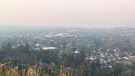 Environment Canada is predicting wildfire smoke from California will reach Vancouver Island Wednesday and remain until the weekend. (CTV News)