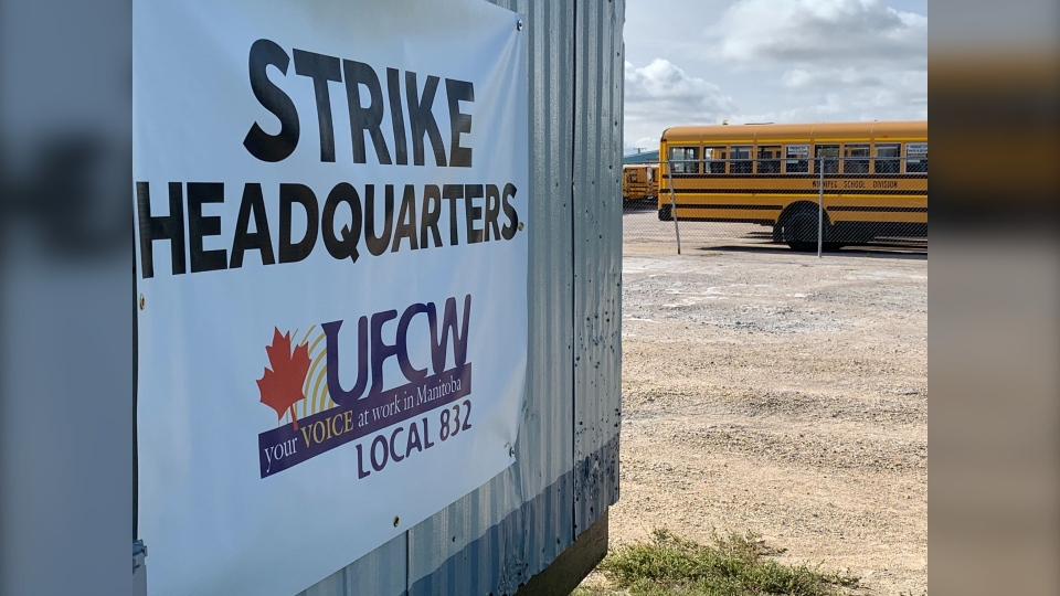 School bus driver strike