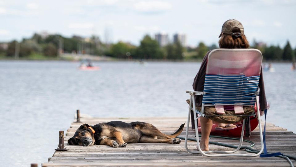 Dows Lake in Ottawa