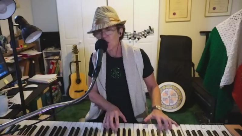 Retired Sault Ste. Marie school teacher Annette Kamierczak covers Neil Young's 'After the Gold Rush.'