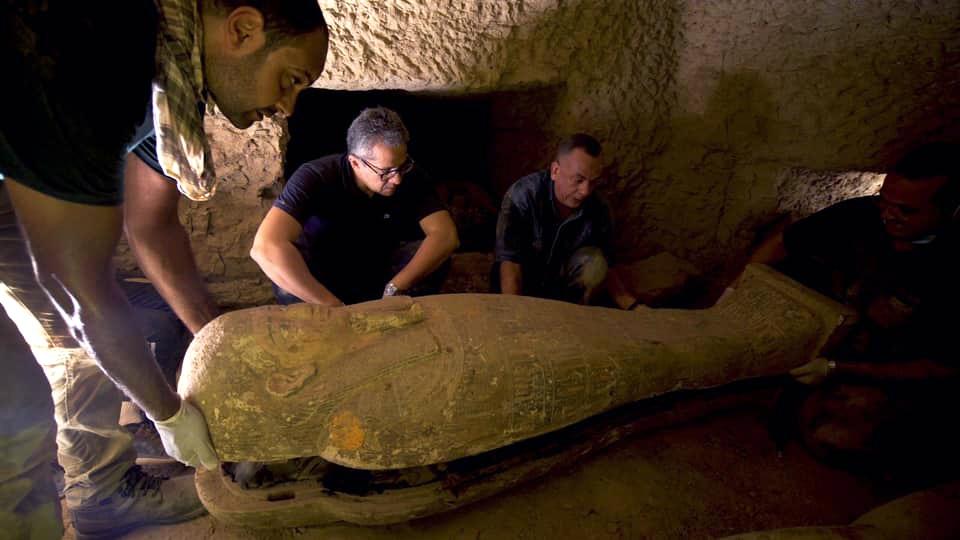 Saqqara coffins