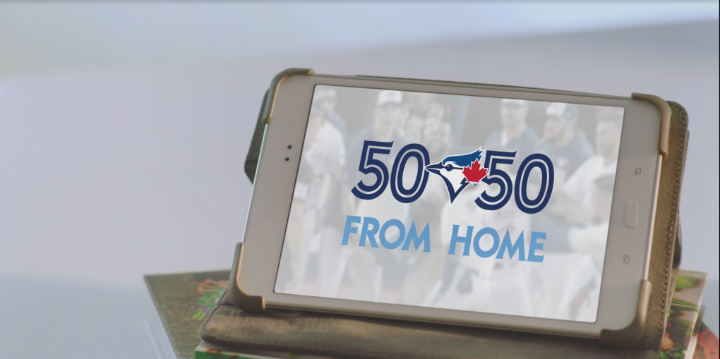 Blue Jays rallying fans for 50/50 draw