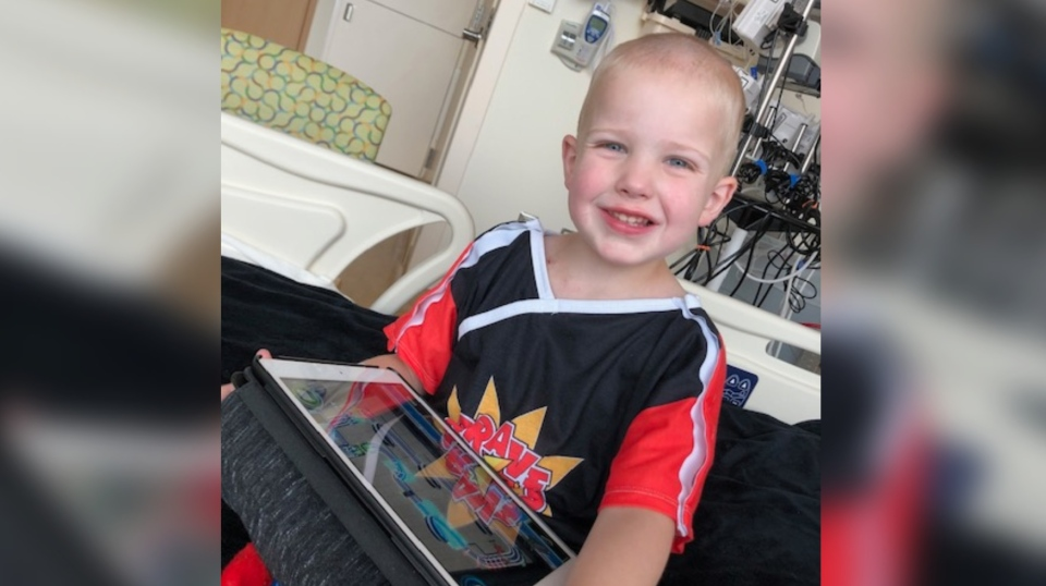 Four-year-old Conner Finn was diagnosed with ALD in June. (Courtesy Craig Finn)