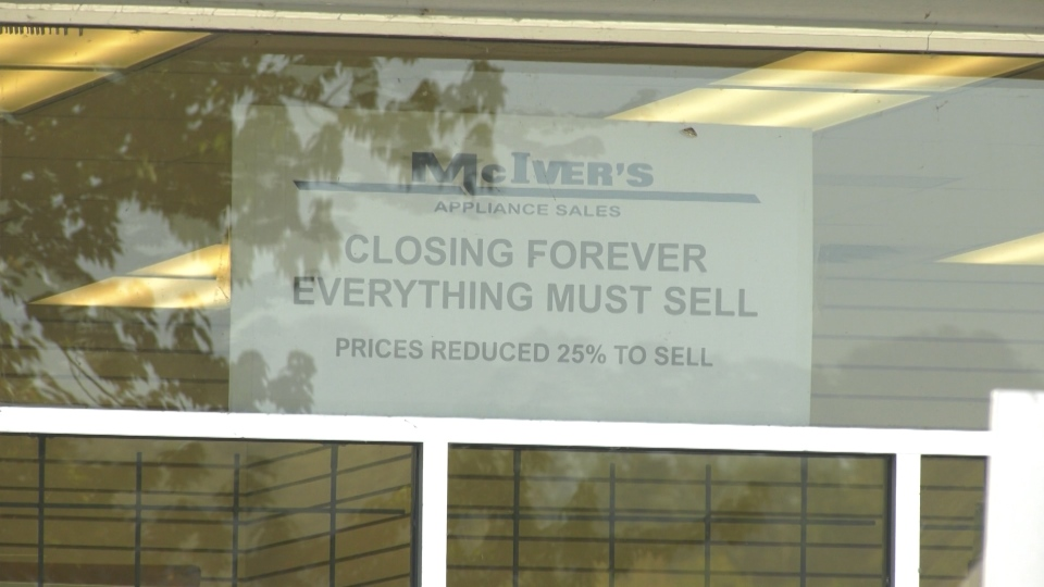 After more than 50 years in business, McIver's Appliance Sales and Services is preparing to close its doors this fall.