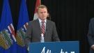 Health Minister Tyler Shandro. Sept. 9, 2020.