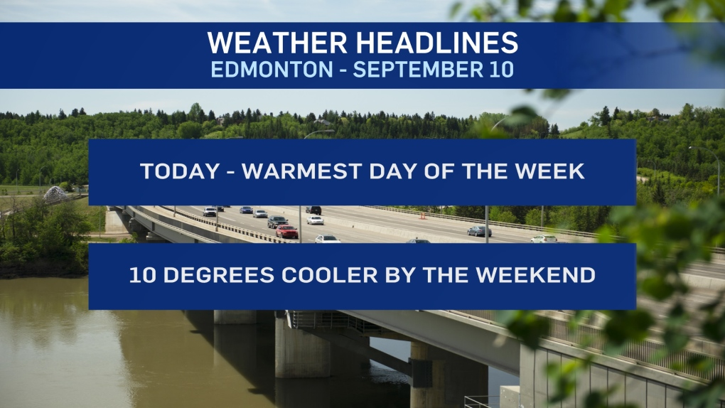 Sept. 10 weather headlines