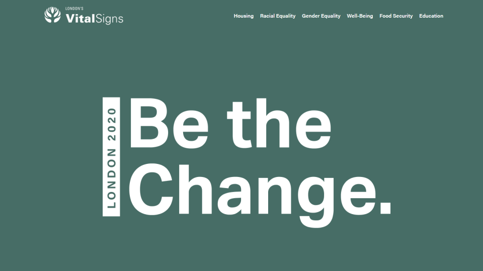 LCF Vital Signs Report 2020: Be the Change