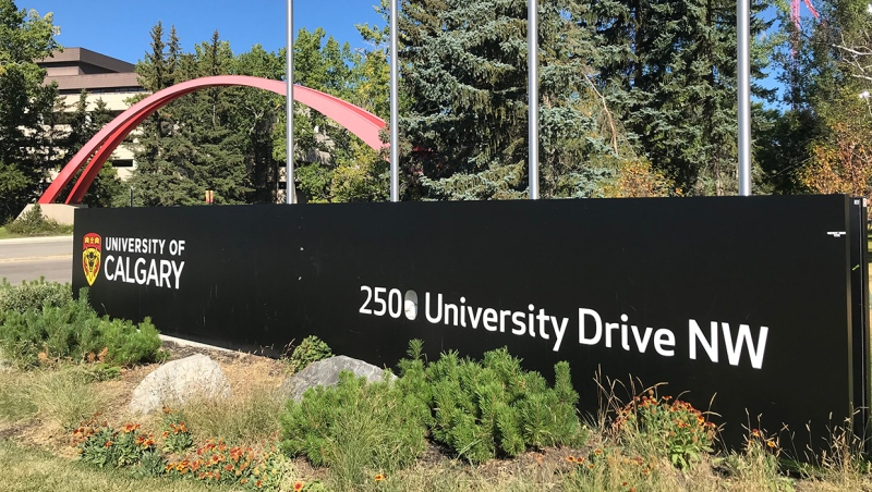 The University of Calgary's provincial funding has dropped to levels not seen since 2010. (File)