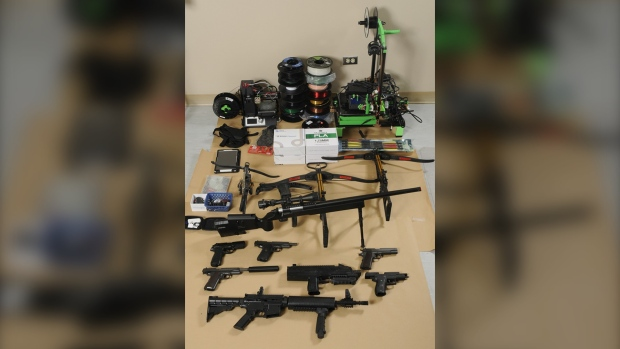 Manitoba RCMP break up firearm manufacturing operation; charges laid