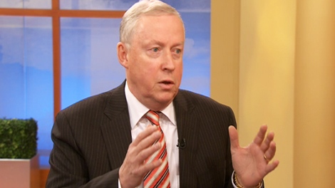 James Hoggan, a veteran Vancouver public relations executive, appears on CTV's Canada AM on Wednesday, Oct. 14, 2009.