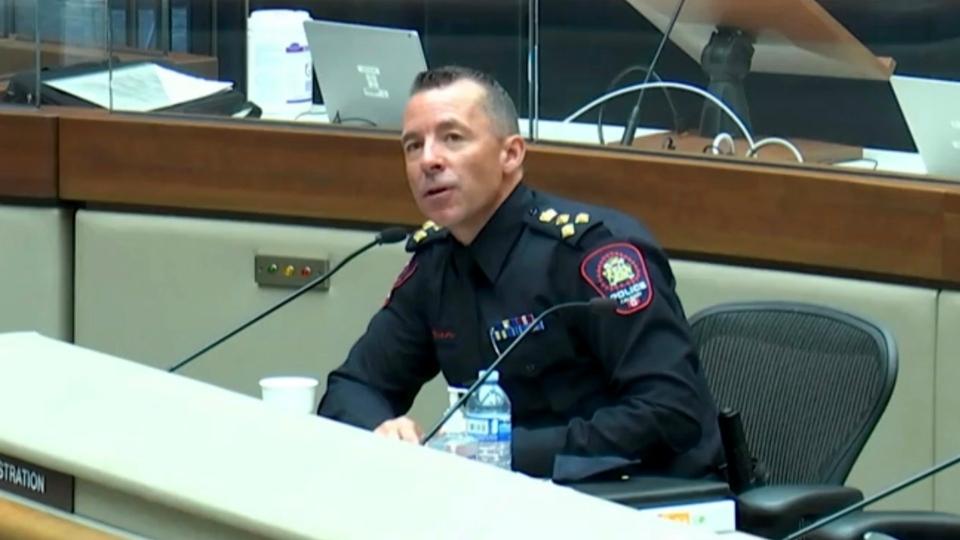 Calgary police Chief Mark Neufeld