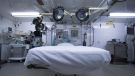In this photo reviewed by U.S. military officials, an operating room sits ready inside the Camp VI detention facility, Wednesday, April 17, 2019, in Guantanamo Bay Naval Base, Cuba. (AP Photo/Alex Brandon)