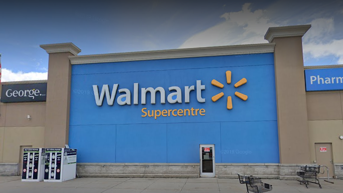 An employee at the Walmart at 3900 Innes Road has tested positive for COVID-19. (Google Maps)