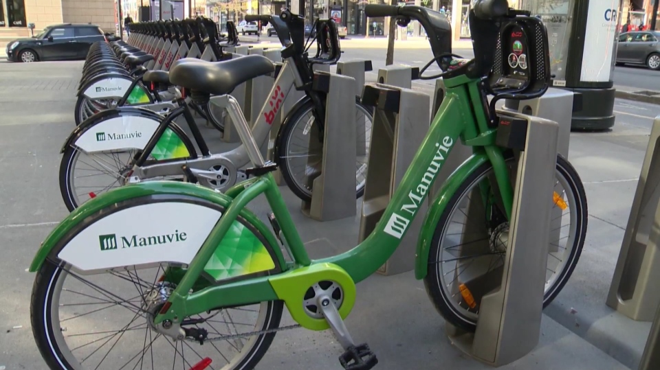 City of London bike-sharing program could begin next April.