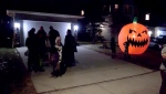 No one knows if Halloween will take place this year, even as businesses stock up on costumes and candy. Kevin Fleming reports.