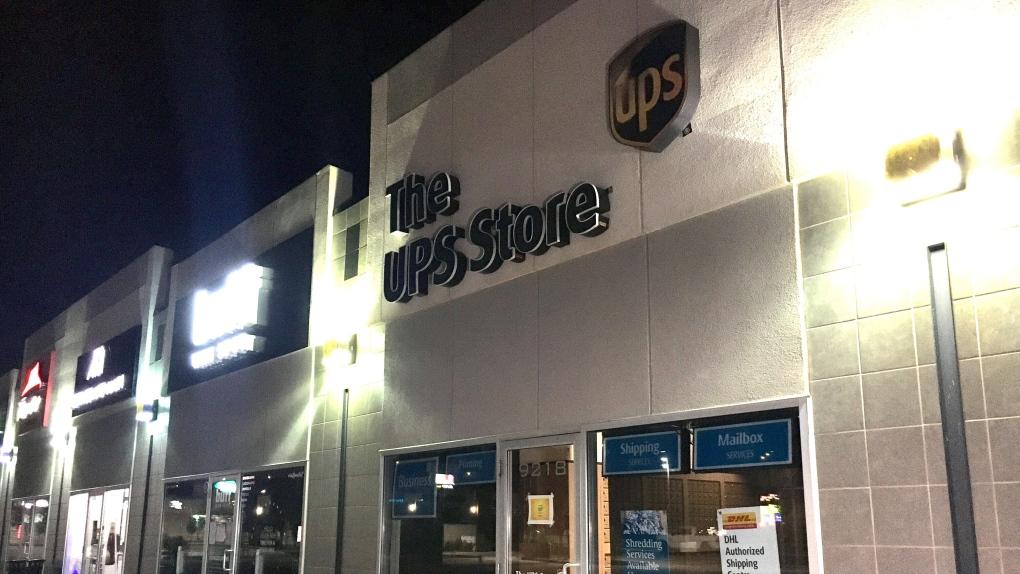 UPS store, Ellerslie