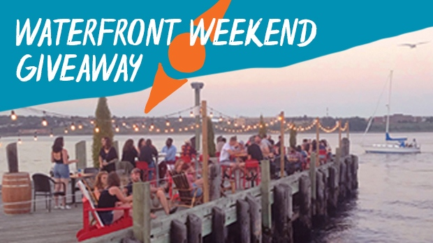 Waterfront Weekend Giveaway Header