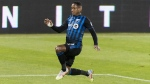 Montreal Impact's Romell Quioto. THE CANADIAN PRESS/Graham Hughes