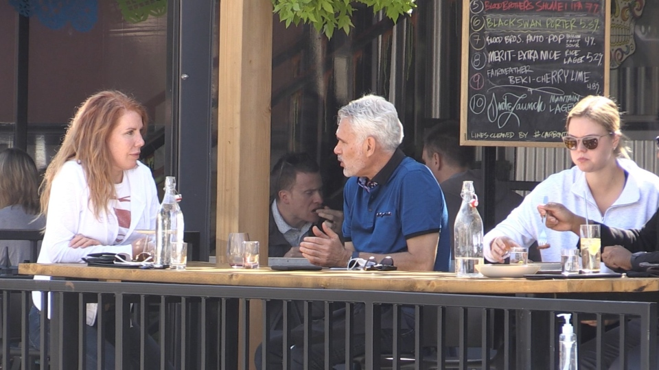 Restaurant owners wonder if diners will move inside once the colder weather arrives. 