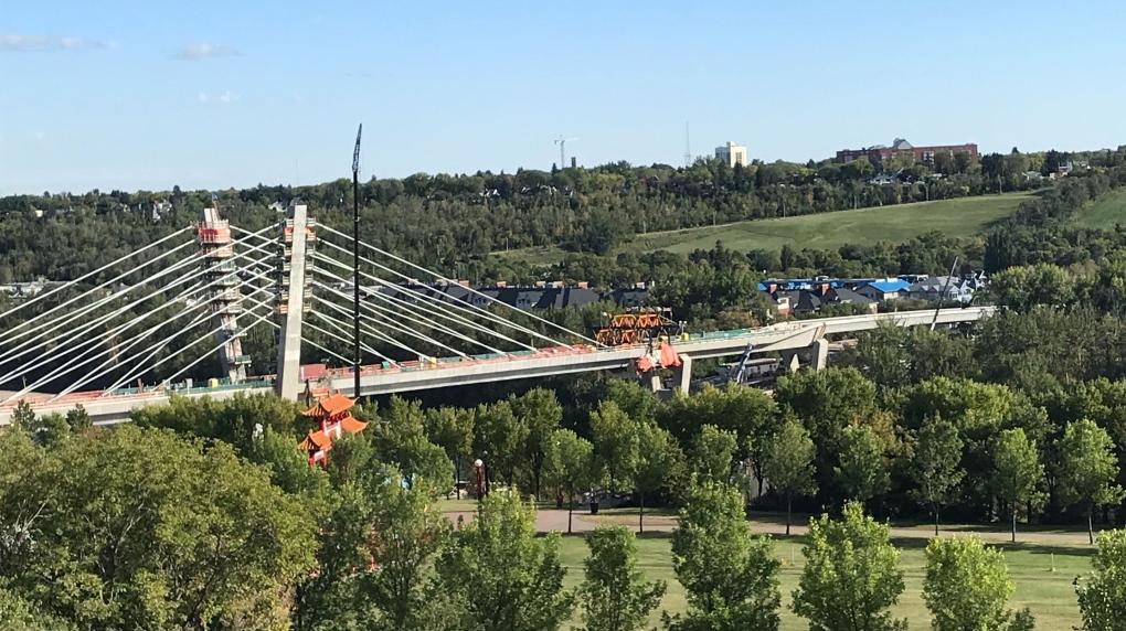 Tawatina Bridge Edmonton