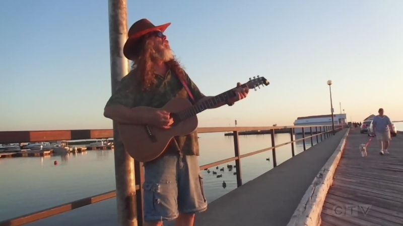 Tonight's song has John McGale covering Otis Redding from the government dock in North Bay.