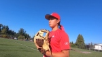 Young pitcher brings the heat