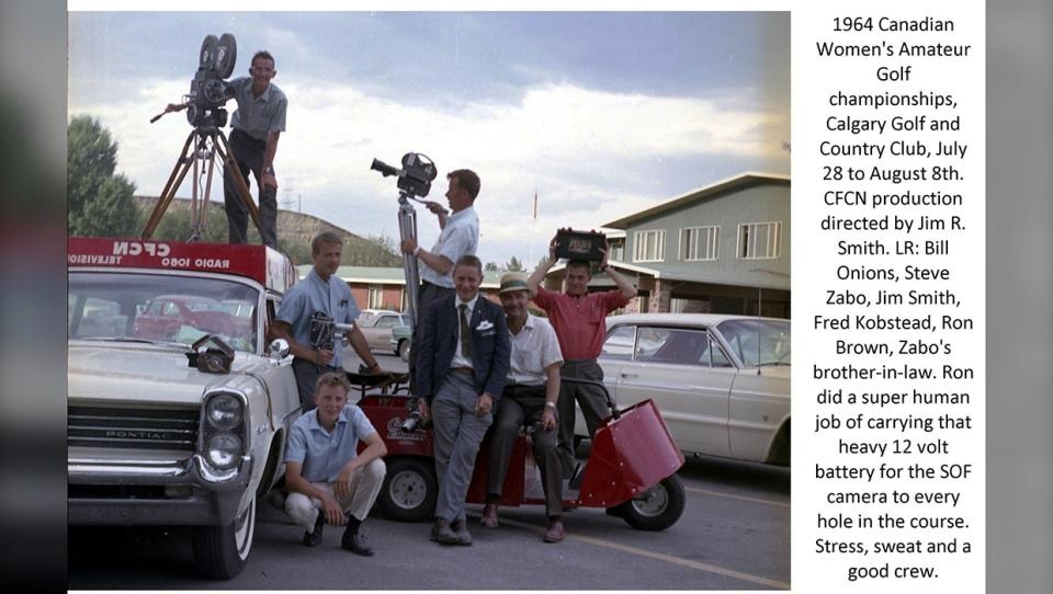 Golf crew 1964