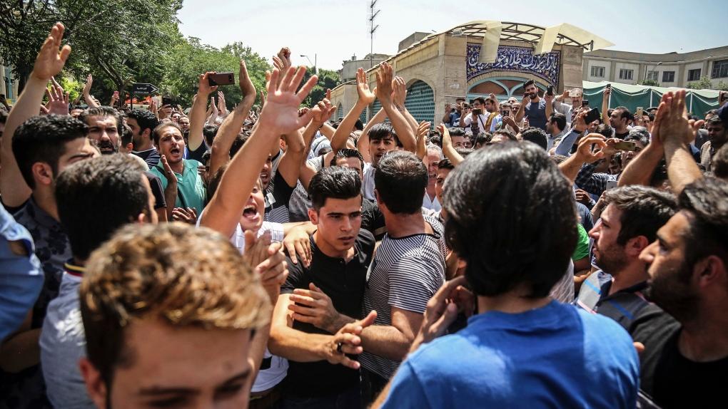 Iran executes wrestler, evoking shock and condemnation